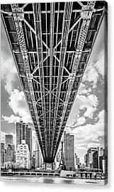 Underneath The Queensboro Bridge Acrylic Print