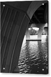 Underneath Yet Above Acrylic Print by James Granberry