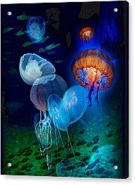 Undersea Fantasy Acrylic Print