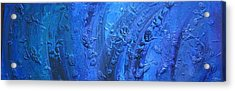 Undertow Acrylic Print by Marco Rosales Shaw