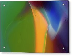 Underwater Fantasies Abstract Glass Photography By Omashte Acrylic Print by Omaste Witkowski