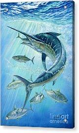 Underwater Hunting Acrylic Print