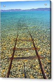 Underwater Railroad Acrylic Print