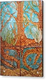 Underwater Trees Acrylic Print