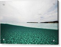 Underwaterline Acrylic Print