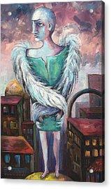 Unemployed Angel Acrylic Print