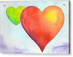 Unequal Love Acrylic Print