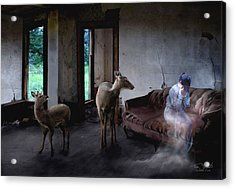 Unexpected Company Acrylic Print by Tom Straub