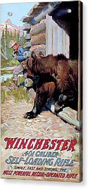Acrylic Print featuring the painting Unexpected Guest by Philip R Goodwin