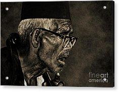 Unexpected Truth Acrylic Print by Manjot Singh Sachdeva