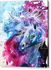 Unicorn Magic Acrylic Print
