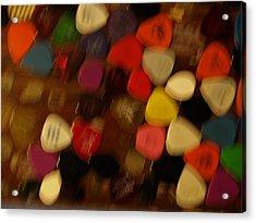 Unidentifiable Picks Acrylic Print by Jacob Stempky