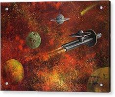 Unidentified Flying Object Acrylic Print