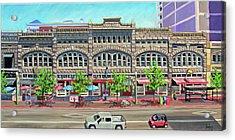 Union Block Building - Boise Acrylic Print