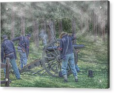 Union Civil War Cannon Acrylic Print