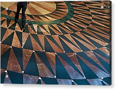 Union Floor Acrylic Print by Kevin Bergen