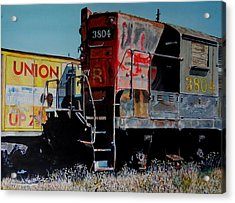 Union Acrylic Print by Gail Chandler