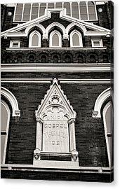 Union Gospel Tabernacle - Aka Ryman Auditorium Acrylic Print