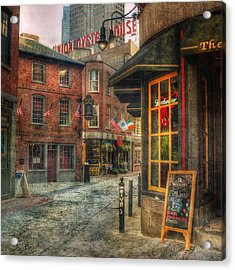 Union Oyster House - Blackstone Block - Boston Acrylic Print