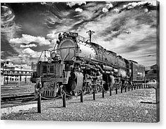 Acrylic Print featuring the photograph Union Pacific 4-8-8-4 Big Boy by Paul W Faust - Impressions of Light