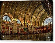 Union Station - Dc Acrylic Print by Frank Garciarubio