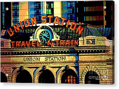 Union Station Acrylic Print