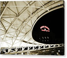Acrylic Print featuring the photograph Union Station Denver by Marilyn Hunt