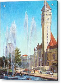 Union Station In St.louis Acrylic Print