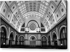 Union Station Acrylic Print by Kristin Elmquist