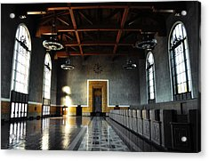 Acrylic Print featuring the photograph Union Station Los Angeles by Kyle Hanson
