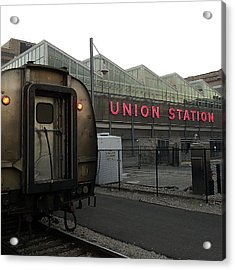 Union Station Morning Acrylic Print by Ron Dubin