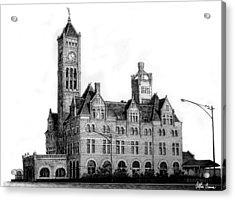 Union Station, Nashville Acrylic Print by Arthur Barnes
