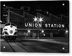 Union Station Night Glow Acrylic Print