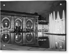 Union Station Reflections Acrylic Print