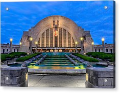 Union Terminal At Sunrise II Acrylic Print
