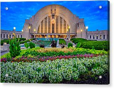 Union Terminal At Sunrise Acrylic Print