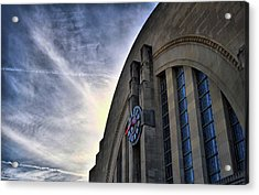Union Terminal Acrylic Print by Russell Todd