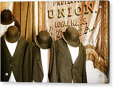 Union Vintage Clothing Acrylic Print