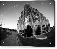 Unique Architecture At University At Albany  Acrylic Print