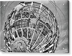 Unisphere In Black And White Acrylic Print