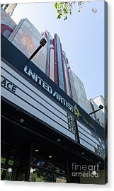 United Artists Berkeley 7 Movie Theater At University Of California Berkeley Dsc6316 Acrylic Print