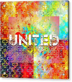 United Acrylic Print