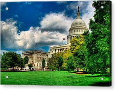 United States Capital House Side Acrylic Print