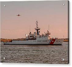 United States Coast Guard Cutter Escanaba Wmec-907 Acrylic Print