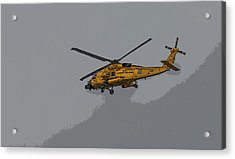 United States Coast Guard Helicopter Acrylic Print