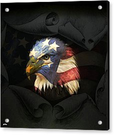 United States Eagle Acrylic Print