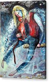 Unity Acrylic Print by Elisheva Nesis