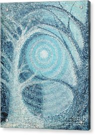 Acrylic Print featuring the painting Unity by Holly Carmichael