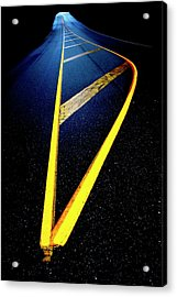 Universal Indecision Acrylic Print by Richard George