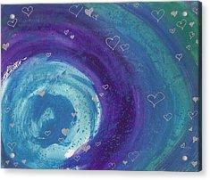 Universal Love Acrylic Print